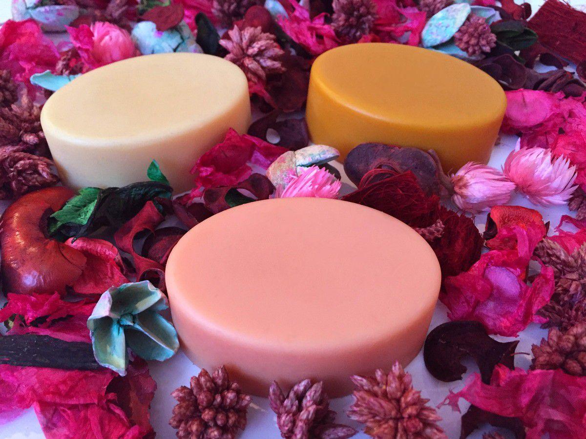 Barres de massage aux Cires Florales Précieuses de Rose, Jasmin et Néroli