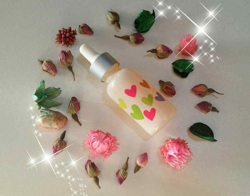 Sérum capillaire précieux, Liss is Rose ...