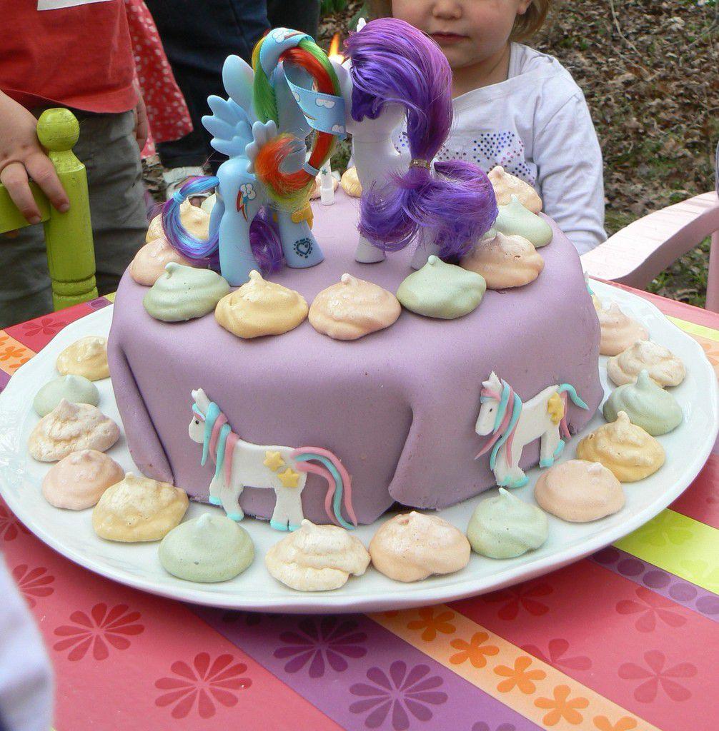 G teau d 39 anniversaire my little pony maman deuxfoisplus - Recette gateau anniversaire enfant ...