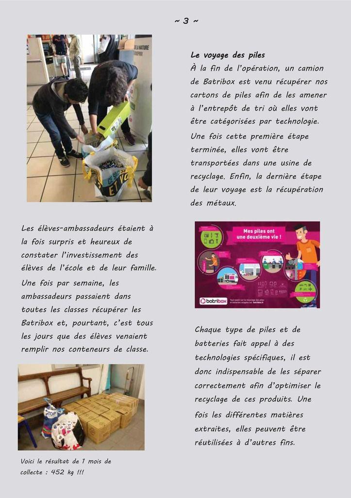 LE JOURNAL DES CM1B