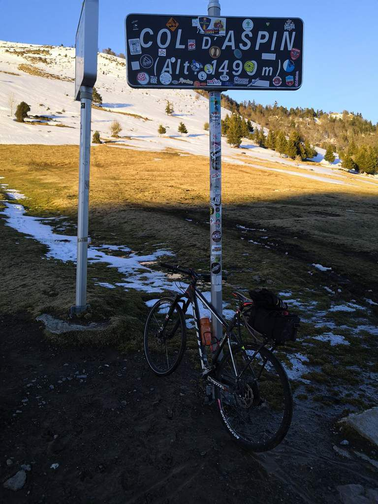 COL D'ASPIN (second passage)