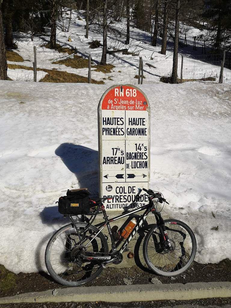 COL DE PEYRESOURDE 1569 mètres