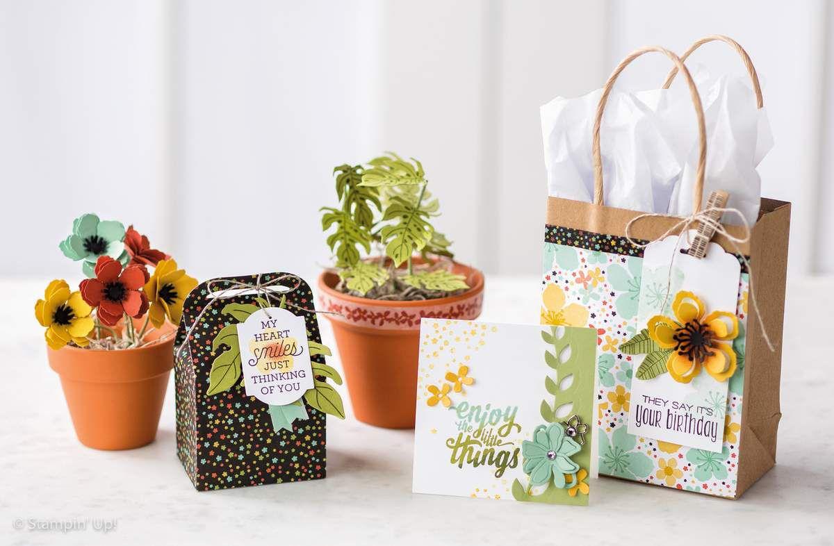 Set de tampons Stampin Up Botanical Bloom