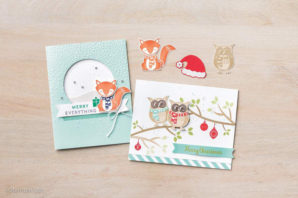 catalogue Automne Hiver Stampin Up 2016