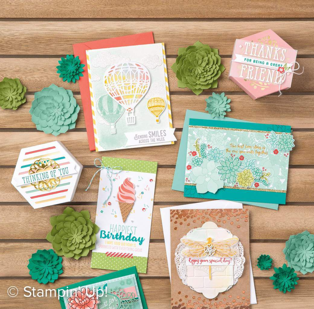 Stampin Up nouveau Catalogue Printemps /été 2017