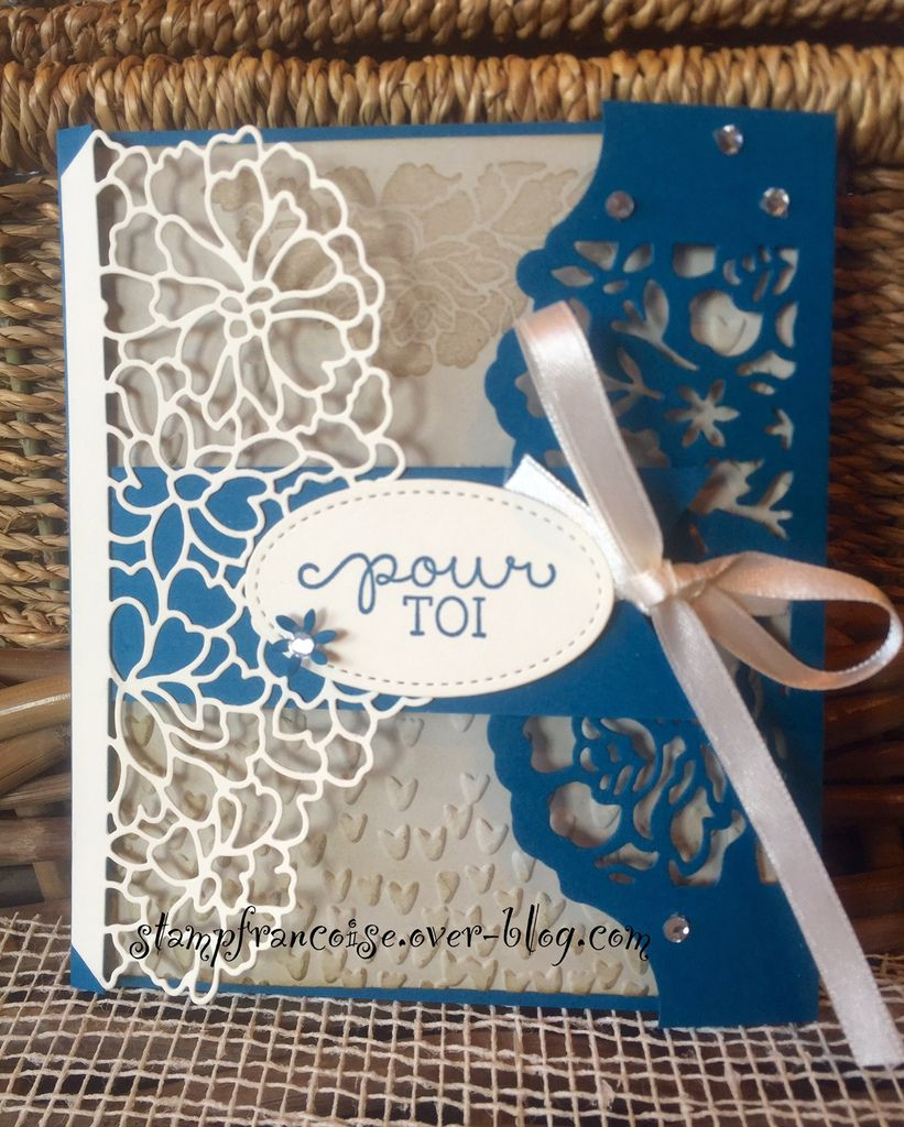 "Stampin'Up  Lot Amour Fou/""so in love bundle"" ""Detailed Floral Thinlits"""