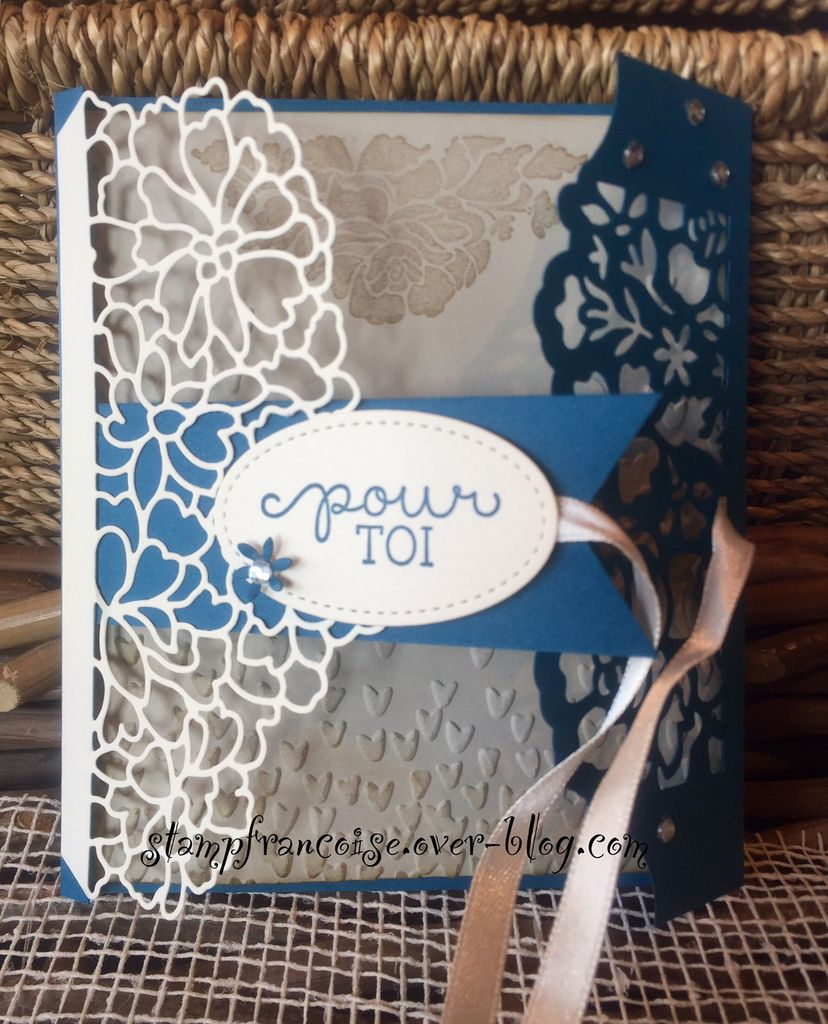 STAMPIN UP  Amour Fou en détails / So in Love Stamp Set & So Detailed Thinlits