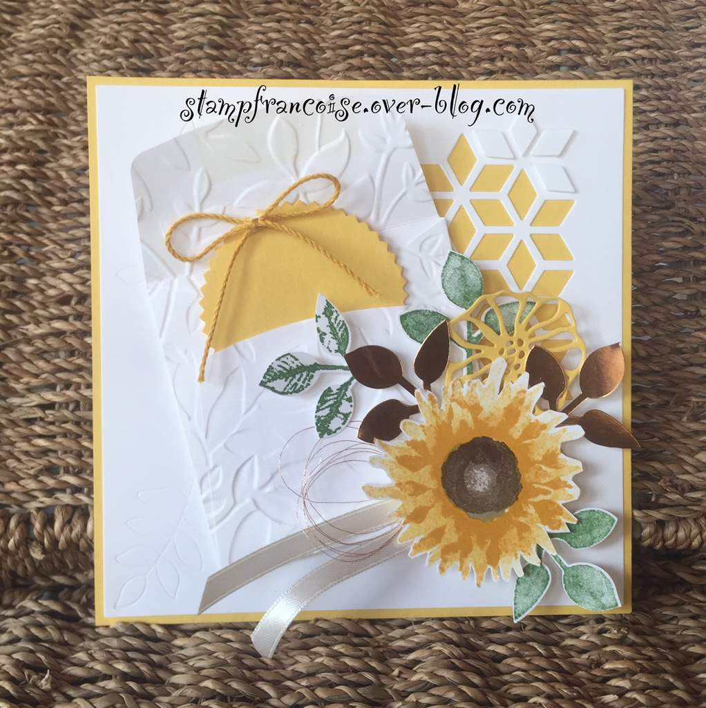 Stampin'Up ! lot Récolte au pinceau tampons + perfo   ref:146022 /  Painted Harvest stamp set bundle