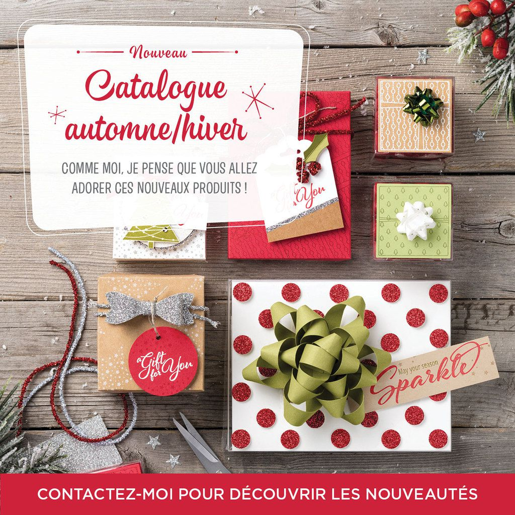 STAMPIN' UP !  sortie officielle catalogue Noel / saisonnier 2017 /2018