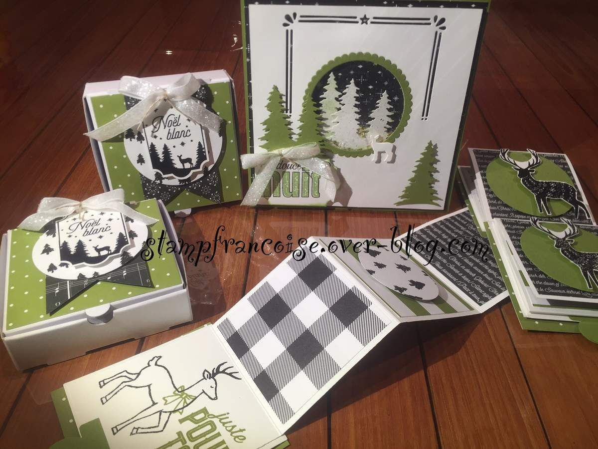 Stampin'Up!  Swaps échangés à On Stage 2017 avec mes filleules Stampin UP