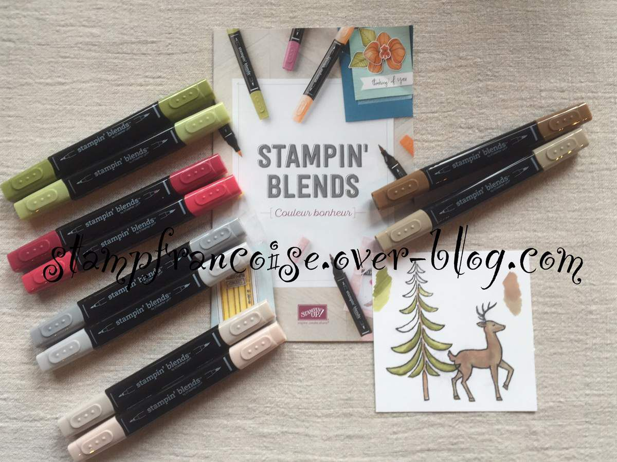 Stampin'Up!  Feutres a Alcool Stampin'Blends