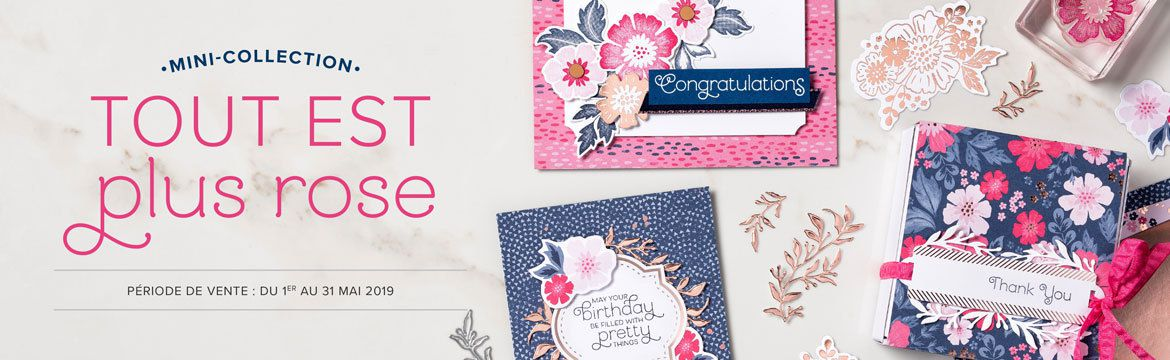 Stampin'Up!  Collection TOUT EST PLUS ROSE