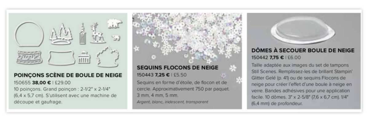Stampin'Up! vidéo gratuite Scene de Boule de Neige / Still Scenes Bundle | Stampin' Up!