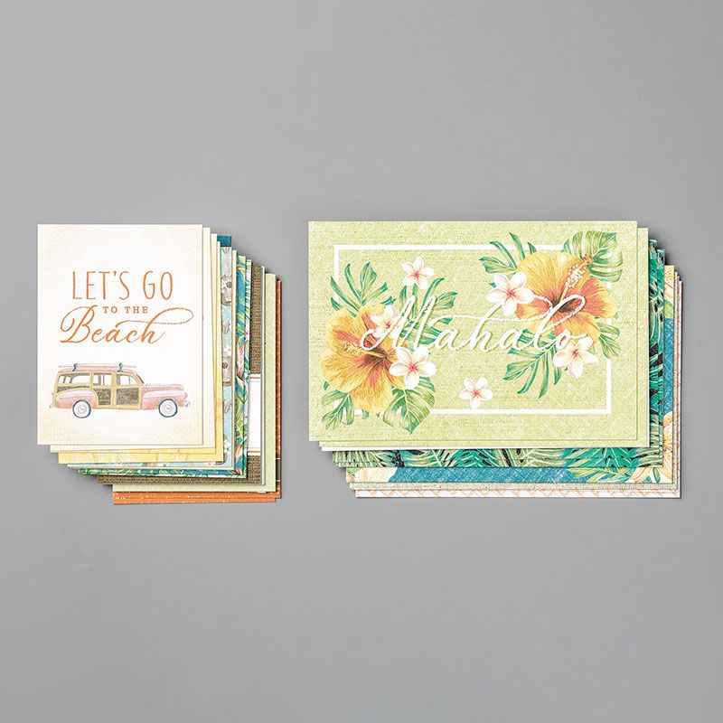 Encre StāzOn Brun cuir Stampin'Up! Video gratuite collection Oasis Tropicale / Tropical Oasis Suite By Stampin' Up!