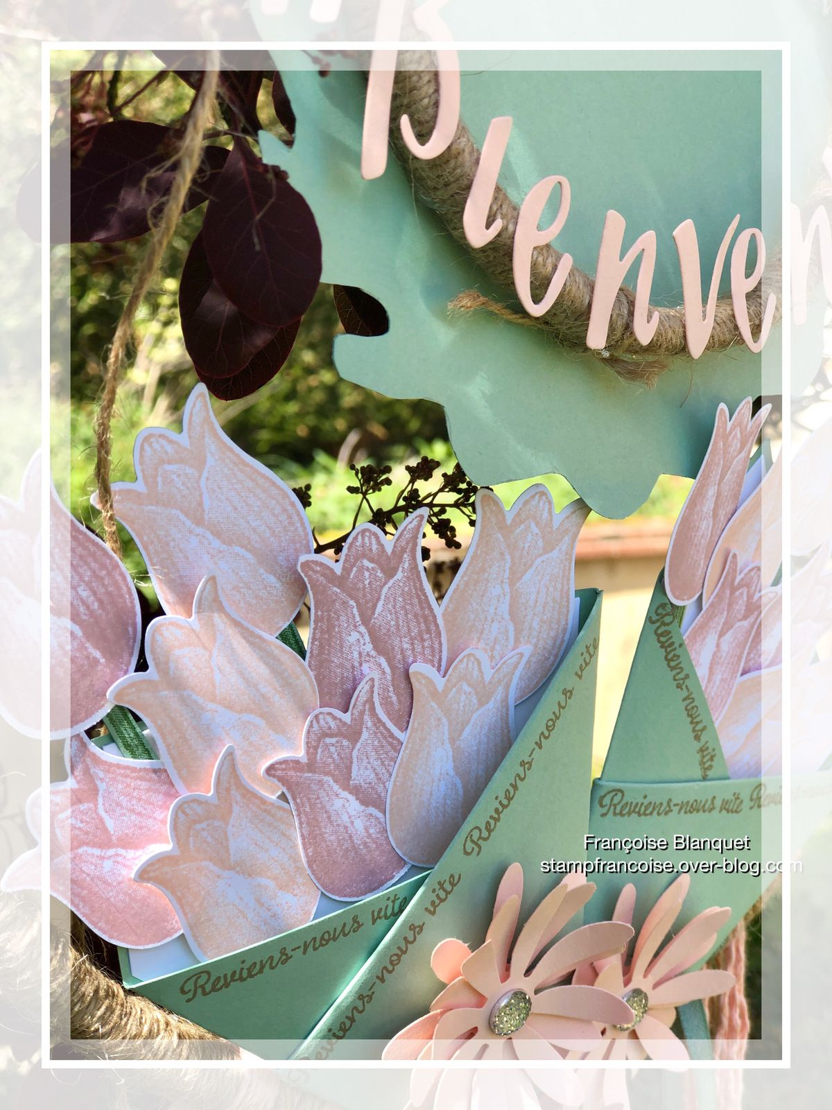 Stampin'Up!  Attrape rêve Floral