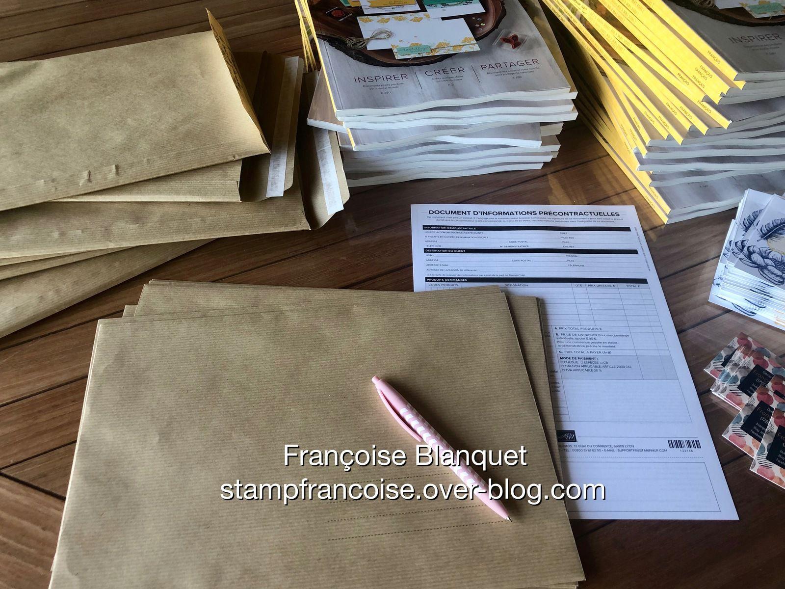 Stampin'Up!  Nouveau catalogue  2020/ 2021   a reserver