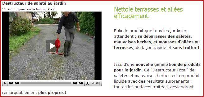 Une alternative aux pesticides : le nettoyant pour allées « bio »