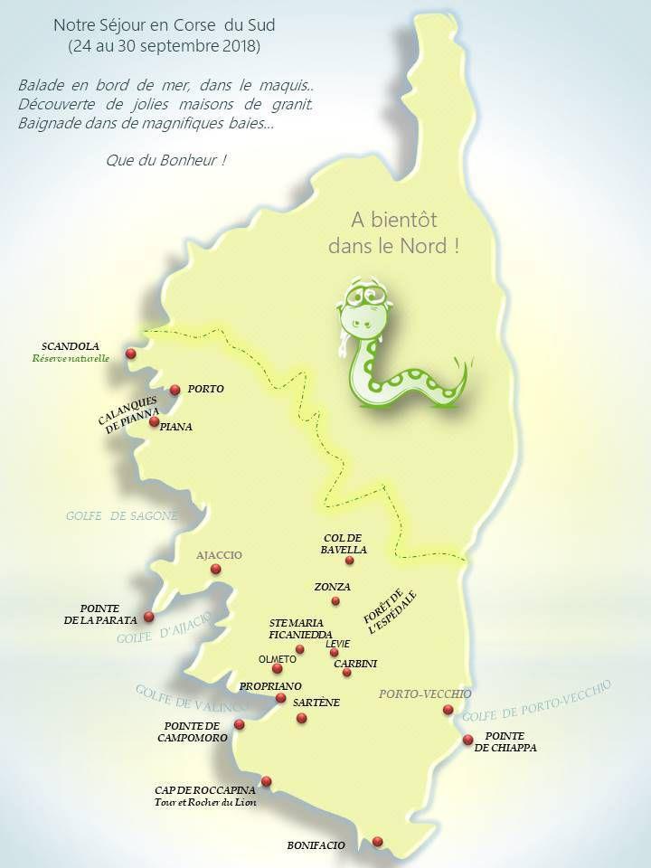 Carte de nos visites