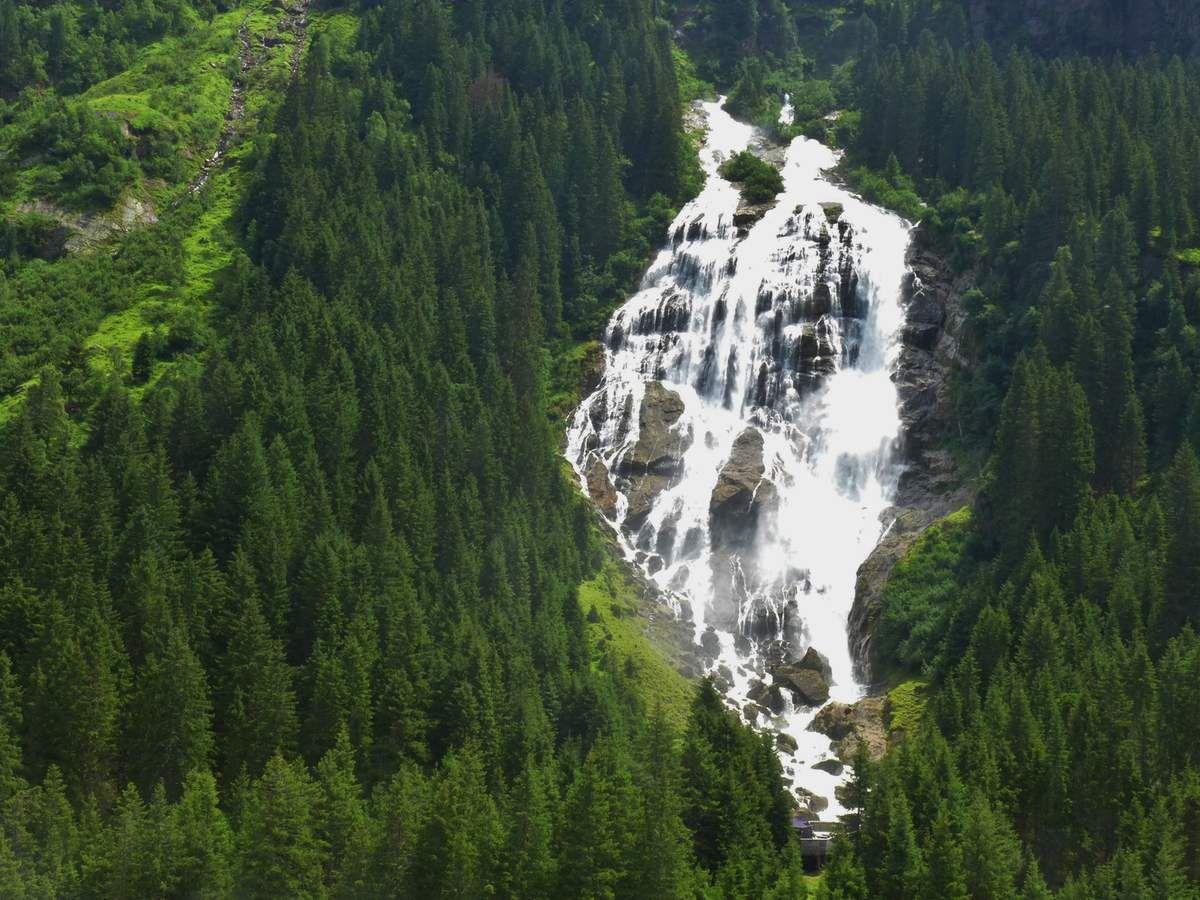 Obernbergsee, Vallée du Brennerpass, St Johann & Innsbruck