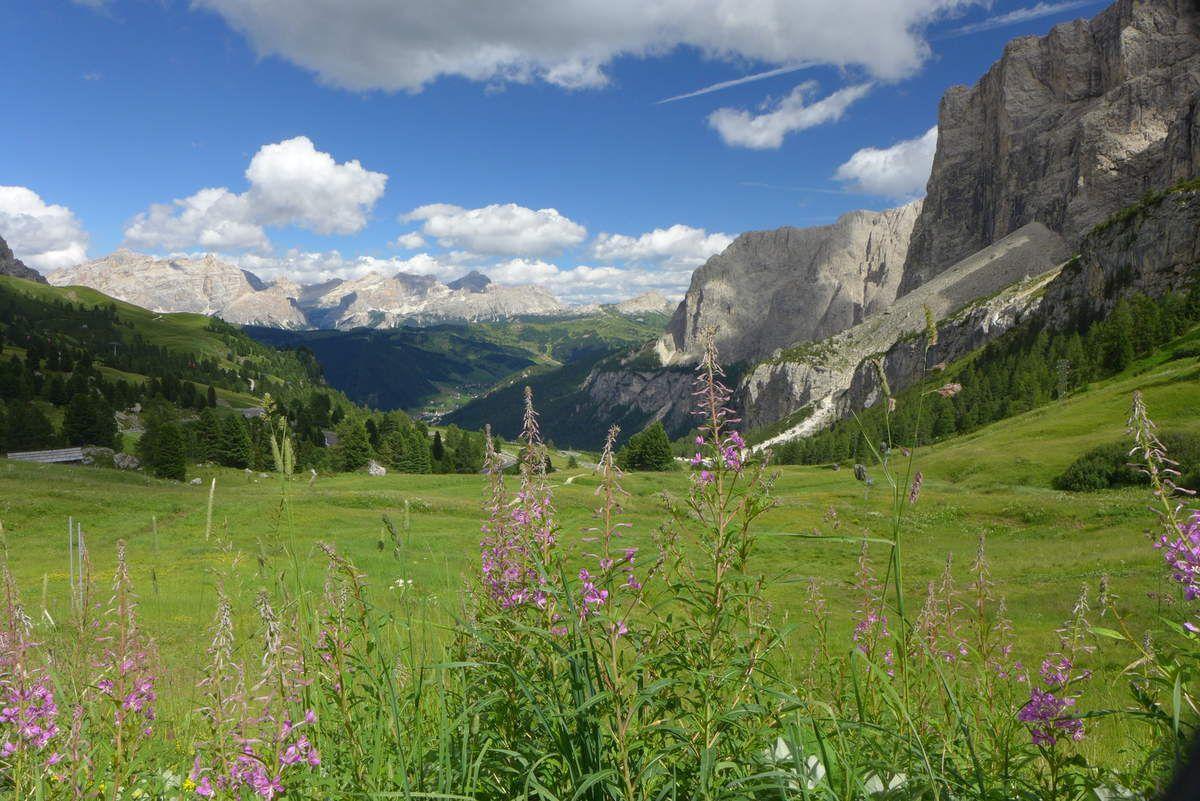 région du Trentin -haut Adige et les Dolomites