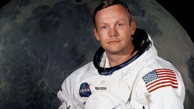 Neil Armstrong, premier homme à avoir posé le pied sur la lune