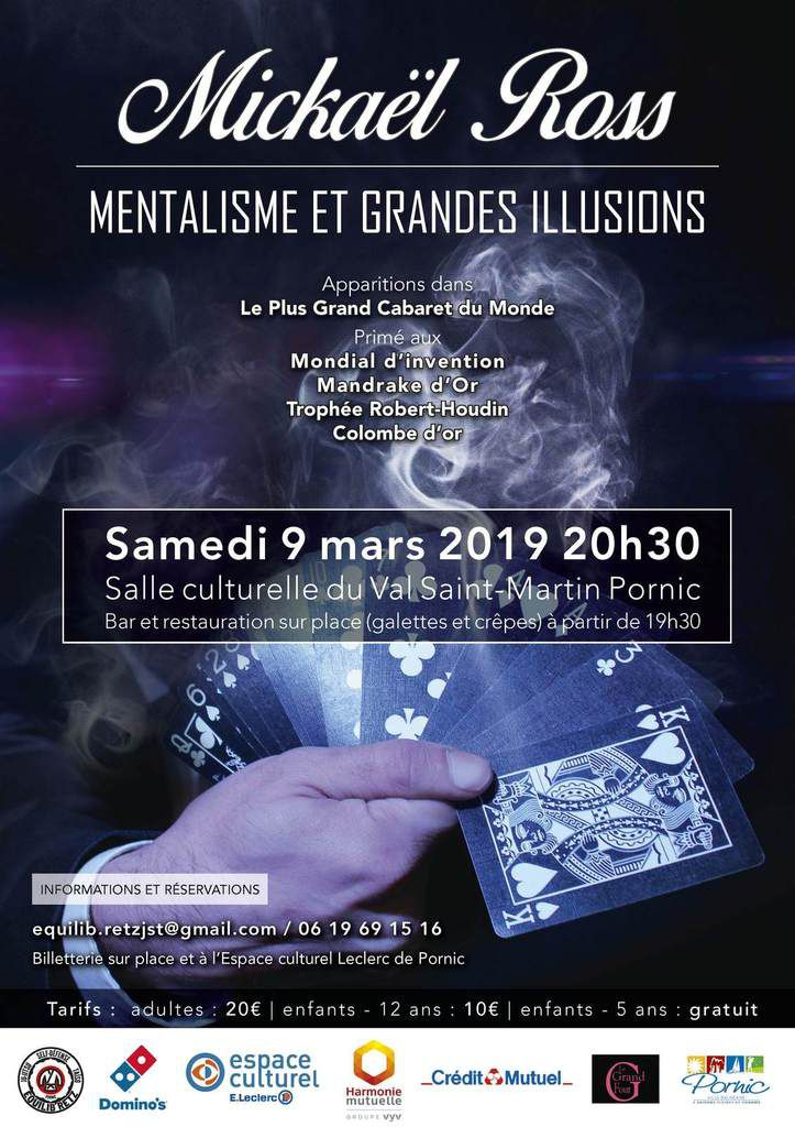 Spectacle le 9 mars 2019