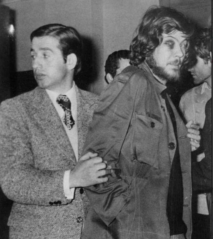 L'arrestation de Makis Balaouras en 1973.
