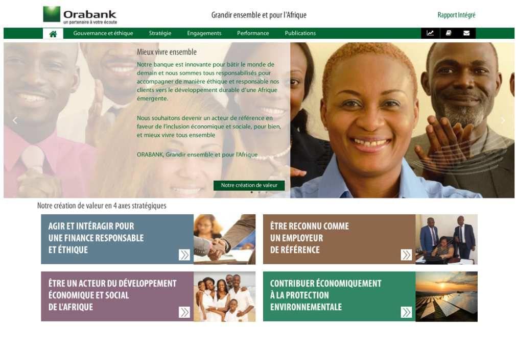 Delphine Bineta D'NIAYE, Directrice de la communication du groupe ORABANK et artisane de sa politique RSE