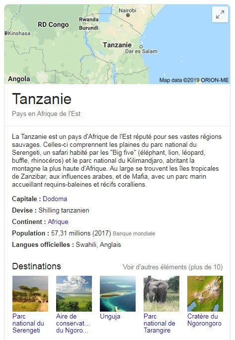 Objectif Tanzania est une agence spécialisée uniquement dans les safaris en Tanzanie