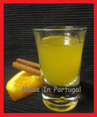 Liqueur d'Orange au Miel et à la Cannelle