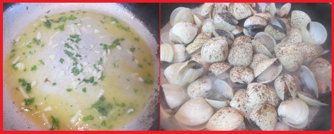 Soupe de Légumes d'Eté aux Amêijoas (Palourdes)