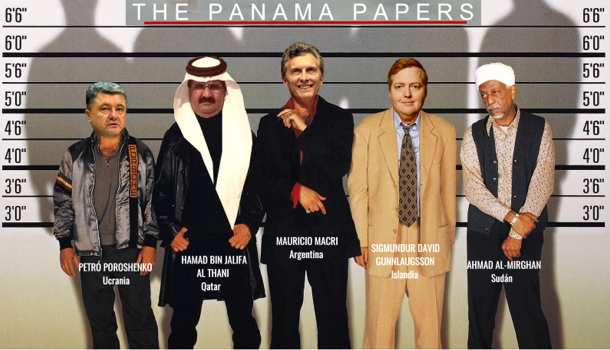 Macri en perd son panama