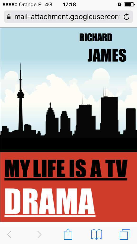 My life is a TV drama - de Richard JAMES