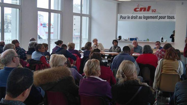 50 personnes à l'assemblée générale de la CNL le samedi 4 février 2017