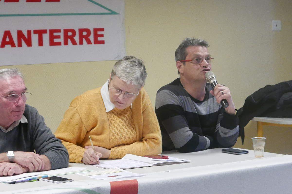 Affluence à l'assemblée générale de le CNL en janvier 2018