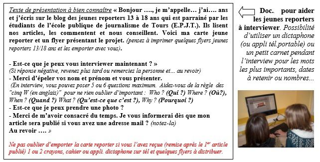 Grille d'interview