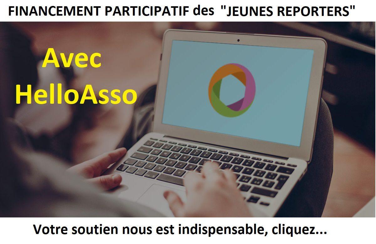 Campagne 2018 de financement participatif du projet Jeunes reporters 8/18 ans