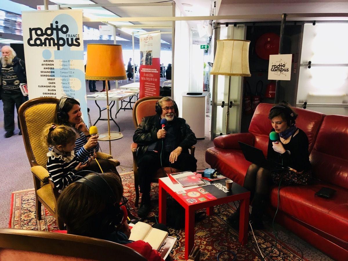 Interviews radio des Jeunes reporters sur Radio Campus Tours