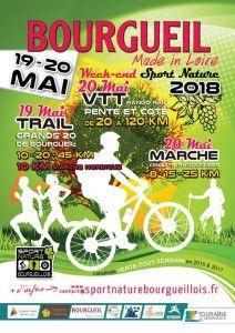 """Trail VTT marche """"Pente et côte"""" à Bourgueil"""