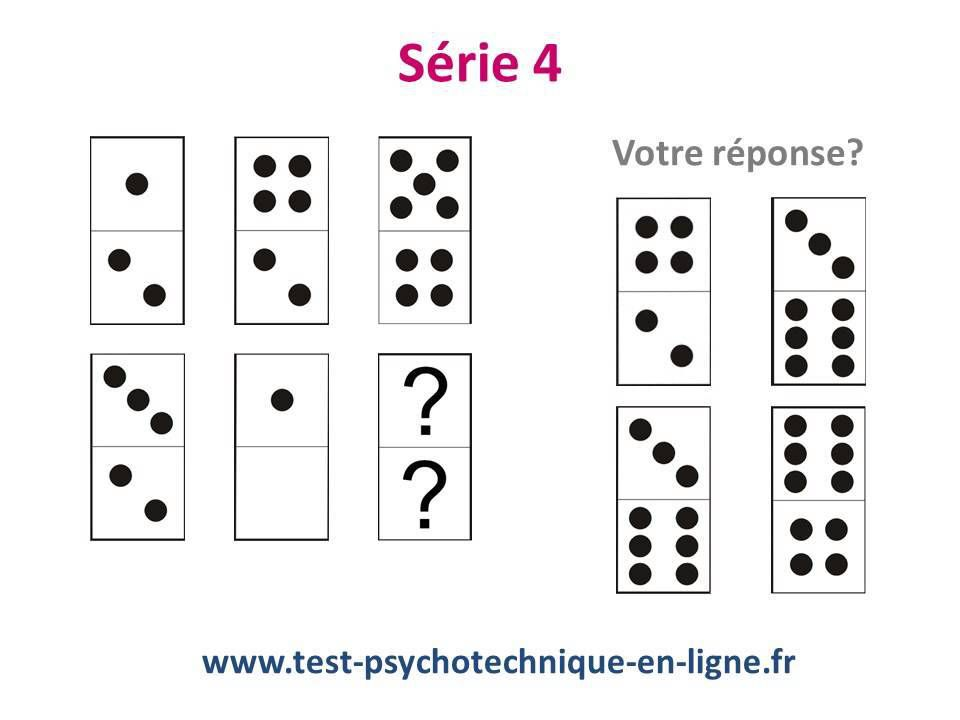 Exemple de test psychotechniques  https://www.youtube.com/watch?v=aKpcgZQhhN0