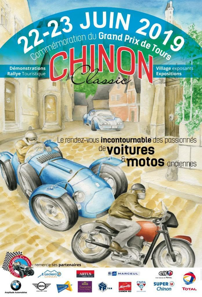 Chinon classic : interview de M. Dupond Maire de Chinon *