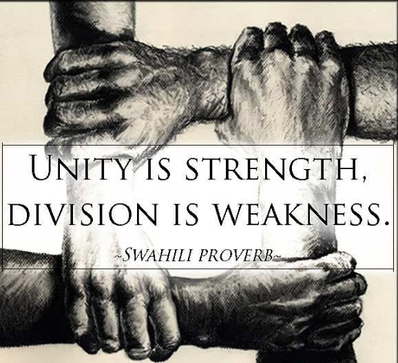 THE POWER OF HUMAN SOLIDARITY