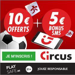 Nouvelle promo casino Circus - 10€ offert à l'inscription, joué votre premiere fois totalement gratuitement.