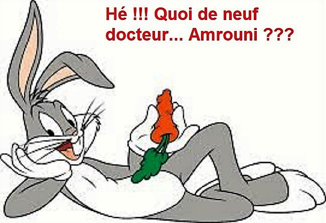 """Ah Bugs Bunny, l'une des Stars des cartoons de ma génération et des précédentes... Notre cher lapinou canaillou faisait-il une métaphore subliminale, de la méthode de """"la carotte et du bâton"""", si prisée par les politicards ???"""