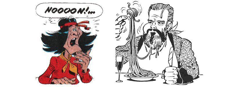 Lucky Luke : Canyon apache (Morris & Goscinny) – Gotlib
