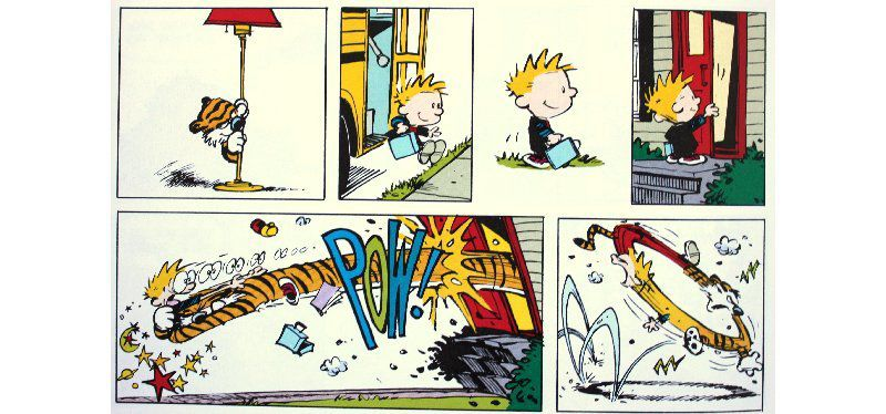 The lazy Sunday book - Bill Watterson (Calvin and Hobbes)