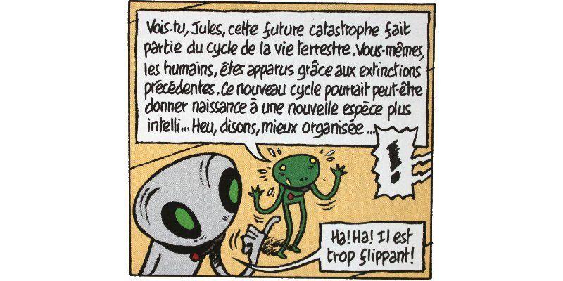 Jules : un plan sur la comète - Emile Bravo