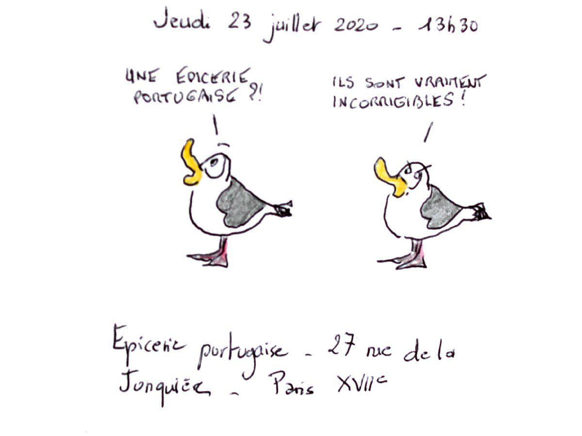 Paris en juillet par temps de Covid-19 (2)