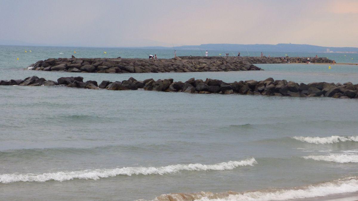 Un soir d'été à Farinette-plage.
