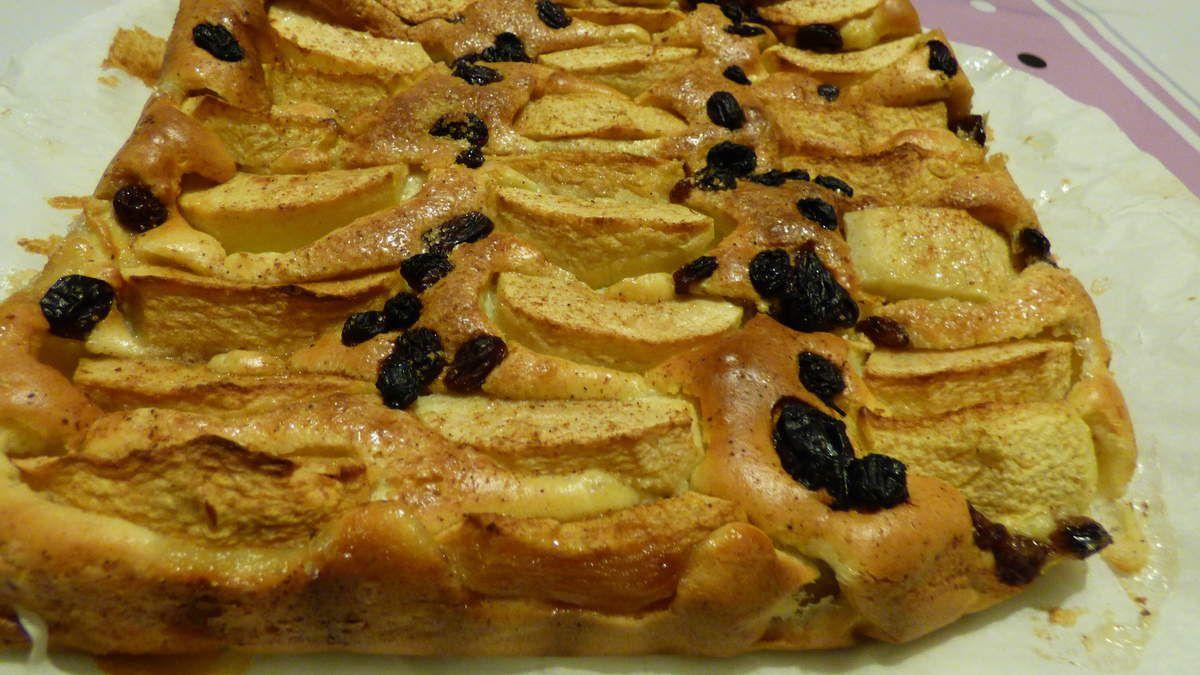 Le gâteau aux pommes, mascarpone de Mimi.